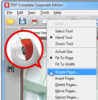 How to disable right click option for pdf file - CodeProject