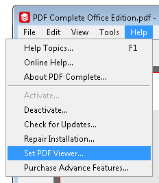 How to set PDF Complete as your default viewer  - PDF Office Edition